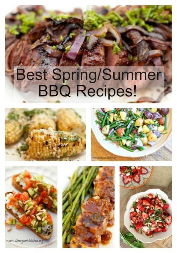 Recipes for a Fantastic Spring/Summer BBQ!