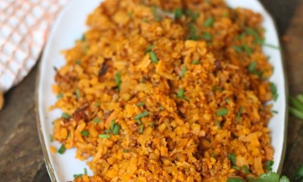 How to make Sweet Potato Rice! Paleo-Whole 30