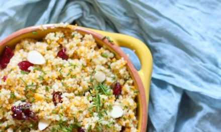 Jeweled Moroccan Couscous an Easy Side Dish!