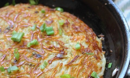 Traditional Swiss Rosti (Potato Fritter) ~ Whole 30
