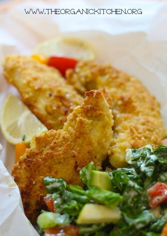Macadamia Nut Crusted Chicken Tenders (Paleo-Whole30-Keto)