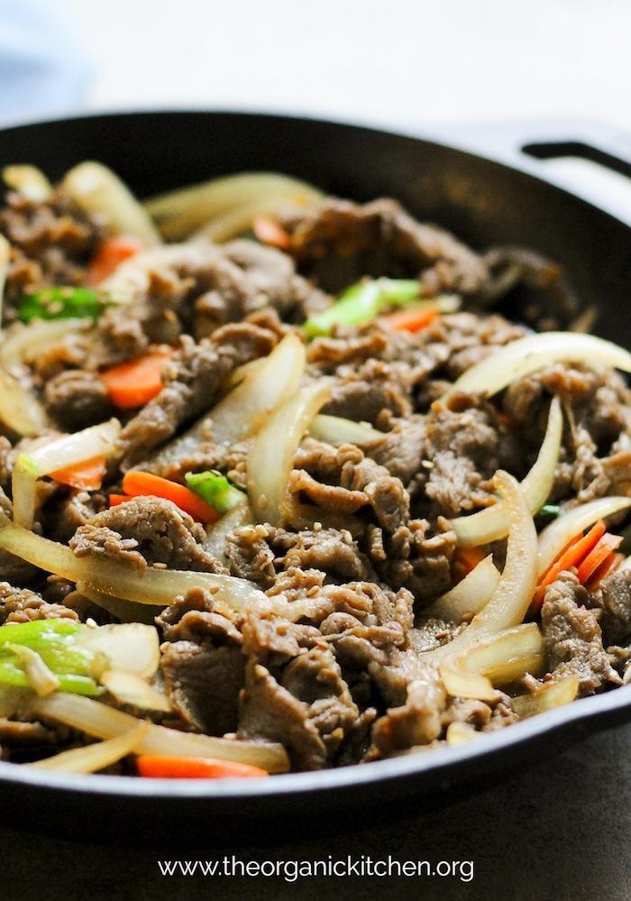Paleo/Whole40 Korean BBQ Beef (Bulgogi) #bulgogi #koreanBBQbeef #whole30 #paleo