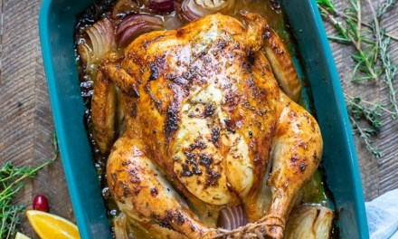 Citrus and Herb Roast Chicken ~ For Any Day or The Holidays!