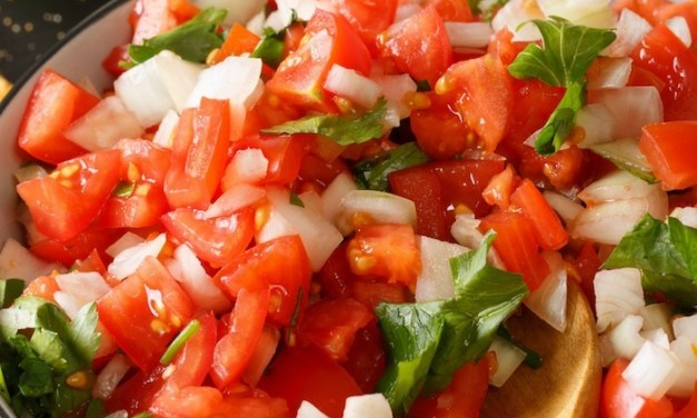 Super Easy Pico de Gallo!