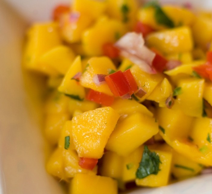 Easy Mango Salsa!