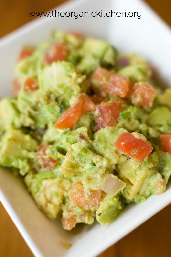 Guacamole for Fresh Fish Tacos