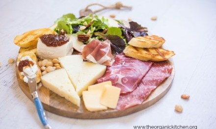 Salad and Charcuterie Board Dinner!