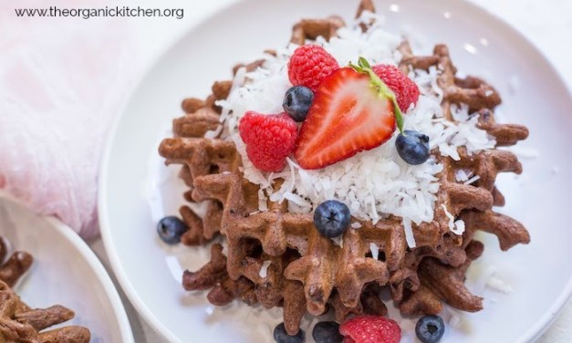 Easy Chocolate Waffles (With Paleo Option!)
