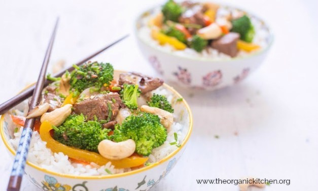 Thai Beef and Broccoli Rice Bowl (with Paleo option)