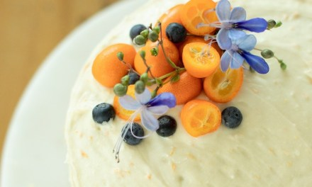 Orange Blueberry Cake