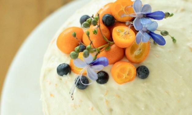 Orange Blueberry Cake