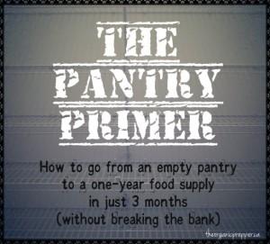 pantry primer