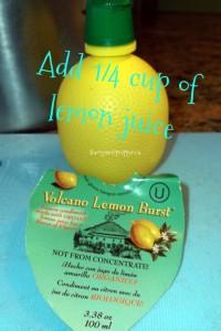 lemon cheese step 2