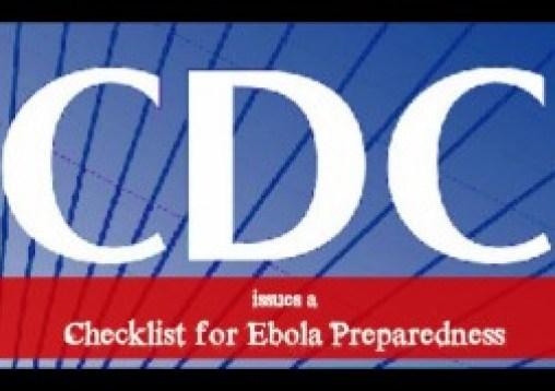 cdc issues a checklist for ebola preparedness