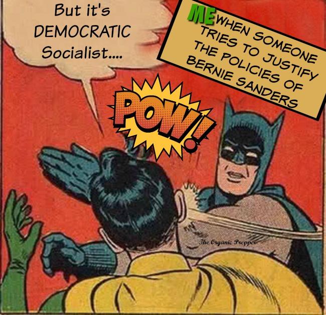 But its democratic socialism