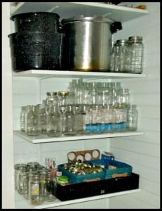 canning closet
