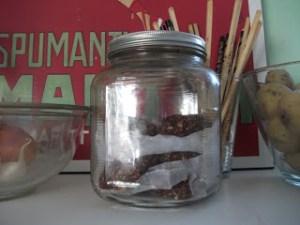 haystacks in a jar