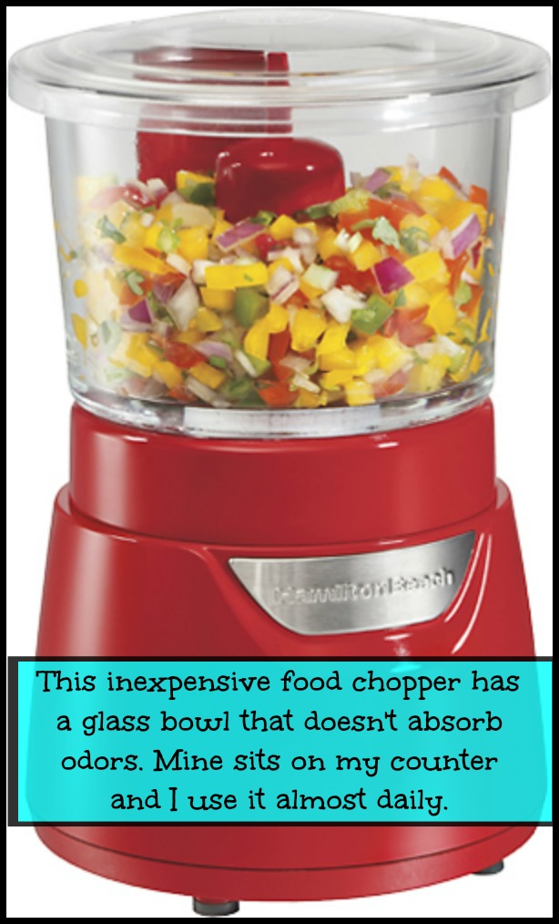 red hamilton beach food processor