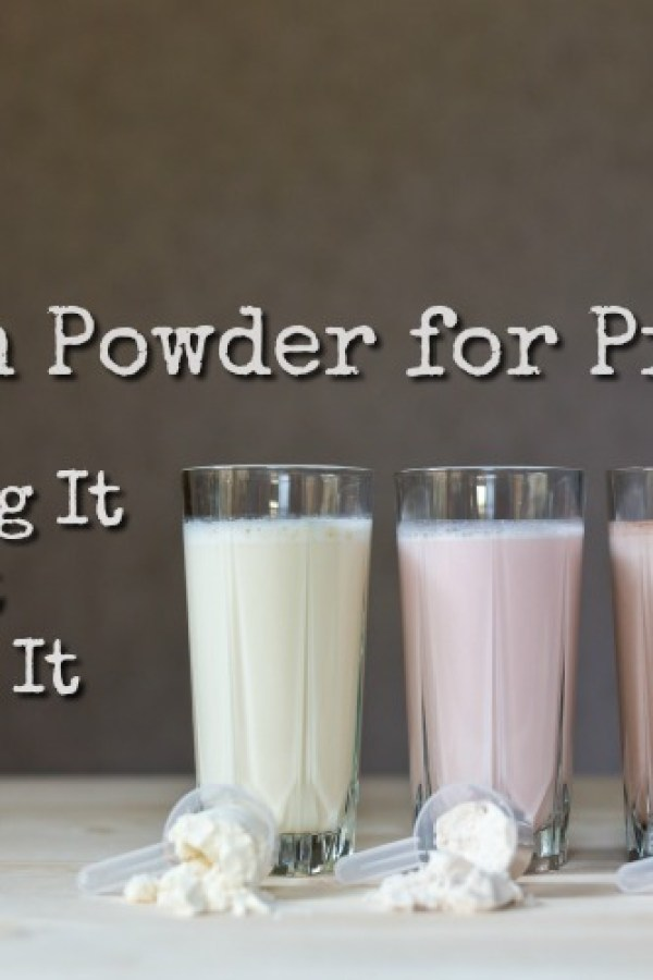 Protein powder isn\'t just for bodybuilders. It can be a great addition to your prepper stockpile (or even to your diet right now!) Here is all you need to know about having protein powder in your preps!