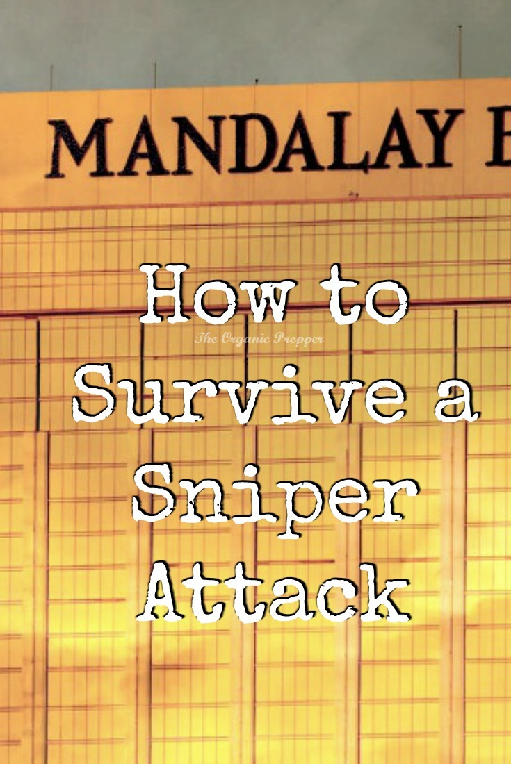Surviving a sniper attack is very different than surviving other types of mass shootings and terror events. While luck plays a factor, these tips can help.