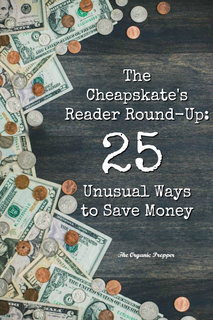 If you are having some difficulty with money right now, you need to know that it is a whole lot easier to SAVE money than to MAKE MORE money. Here are 25 unusual ways to spend less.