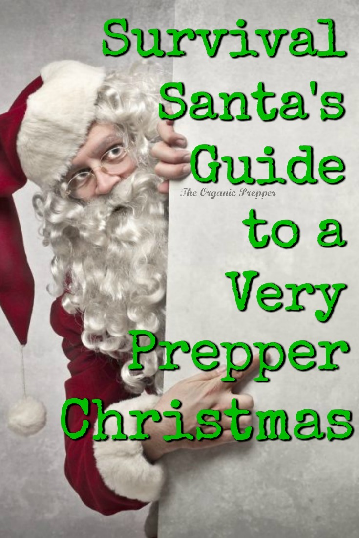 Give gifts of preparedness, stick to your budget, and be prepared for a holiday disaster with this guide to the most prepper Christmas around!