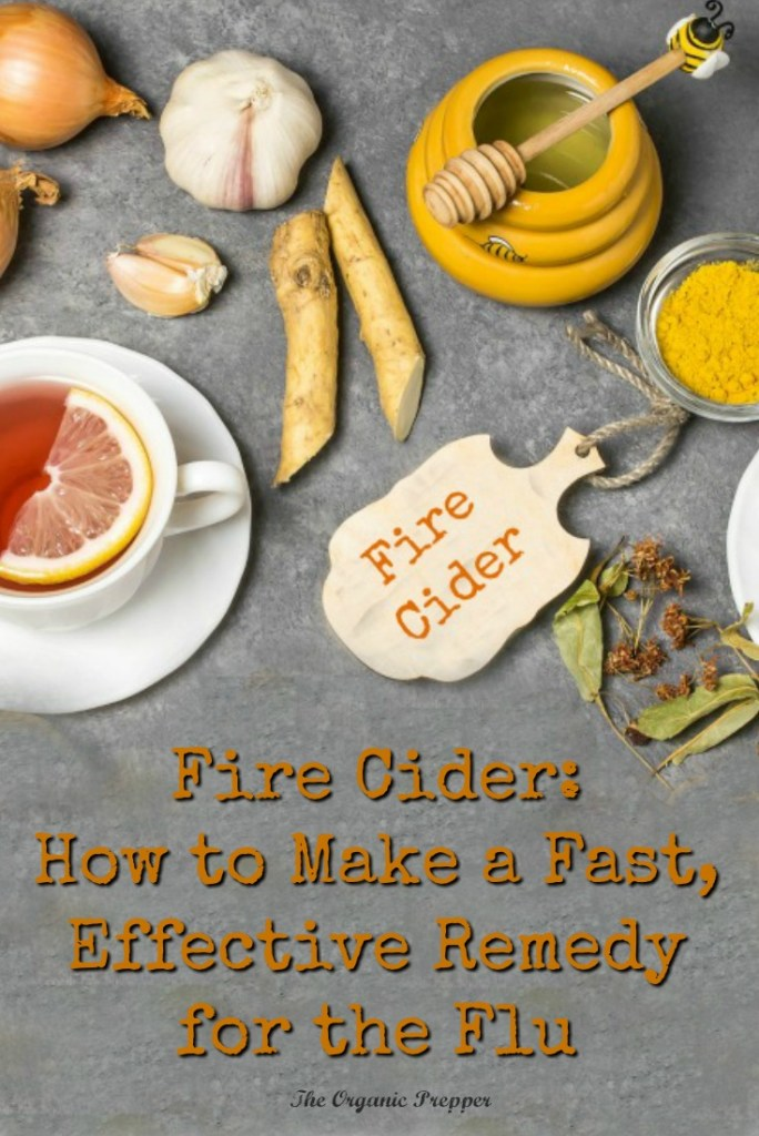 Got the flu? Fire cider is loaded with anti-inflammatory, immune-supporting, and decongestant herbs. It's super simple to make and the ingredients are easy to find.
