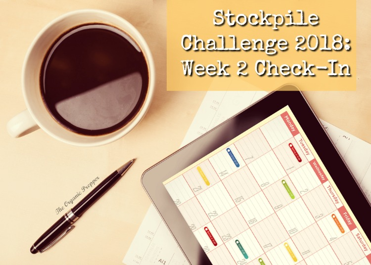 As we finish the second week of the stockpile challenge, more folks are seeing the gaps in their preparedness efforts. But the solutions are VERY creative!