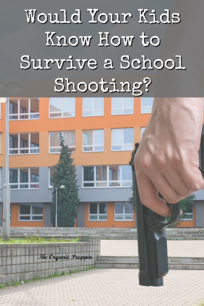 Do your kids know what to do in the event of a school shooting? It isn't fun to talk about this with them, but the conversation could save their lives.