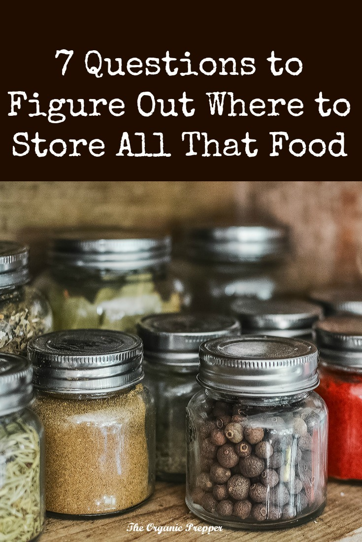 Wondering where to store all that food? Look at each room with new eyes and ask yourself these seven questions.