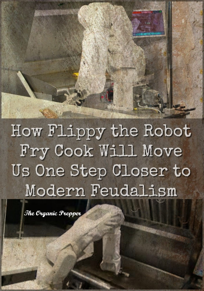 You'll be called a Luddite if you see where Flippy the Robot Fry cook and friends are leading us, but anyone paying attention knows it's going nowhere good. | The Organic Prepper