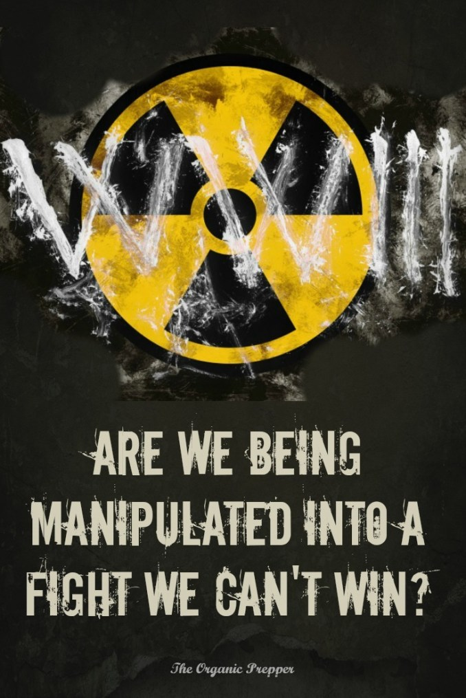 Everyone is talking about World War III right now, but are we being manipulated into a fight we can't win?   The Organic Prepper