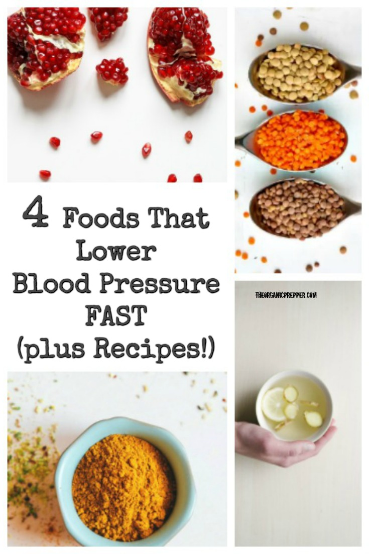 Here are four foods that can naturally reduce your blood pressure so fast we had to include a warning in this article. (Plus some delicious recipes!) | The Organic Prepper