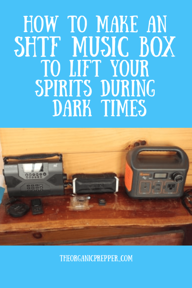 Don't overlook the power of music during difficult times. Here's how to create an SHTF music box so you can be assured of having your favorite songs.