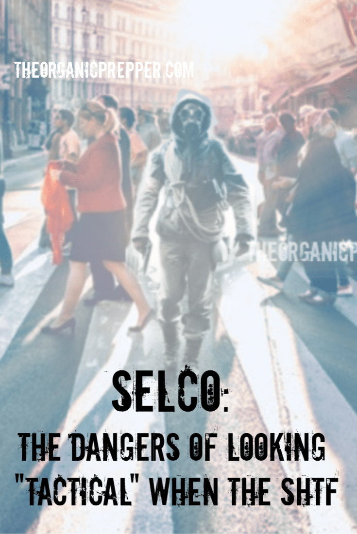 We all know that prepper who decks out in tactical gear every day & sticks out like a sore thumb. Selco warns us not to look too \
