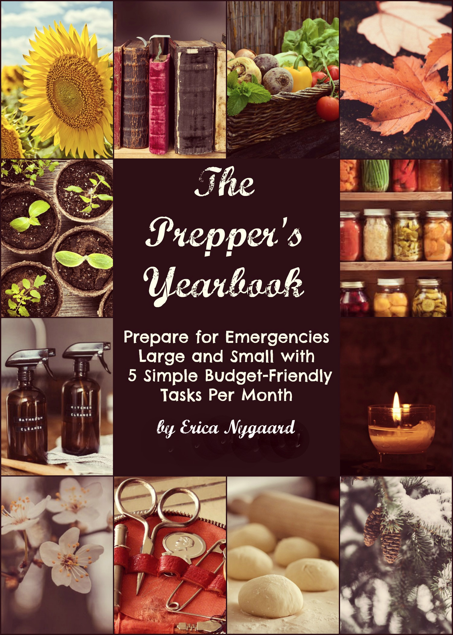 Prepping doesn\'t have to be overwhelming. Here\'s how to get prepped this year with just 5 inexpensive and simple tasks per month! | The Organic Prepper