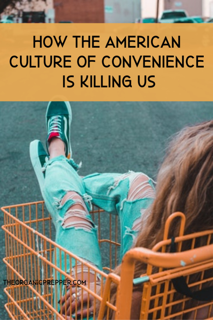 Between a combination of low-quality food and extremely sedentary lifestyles, the majority of Americans are killing themselves with convenience.