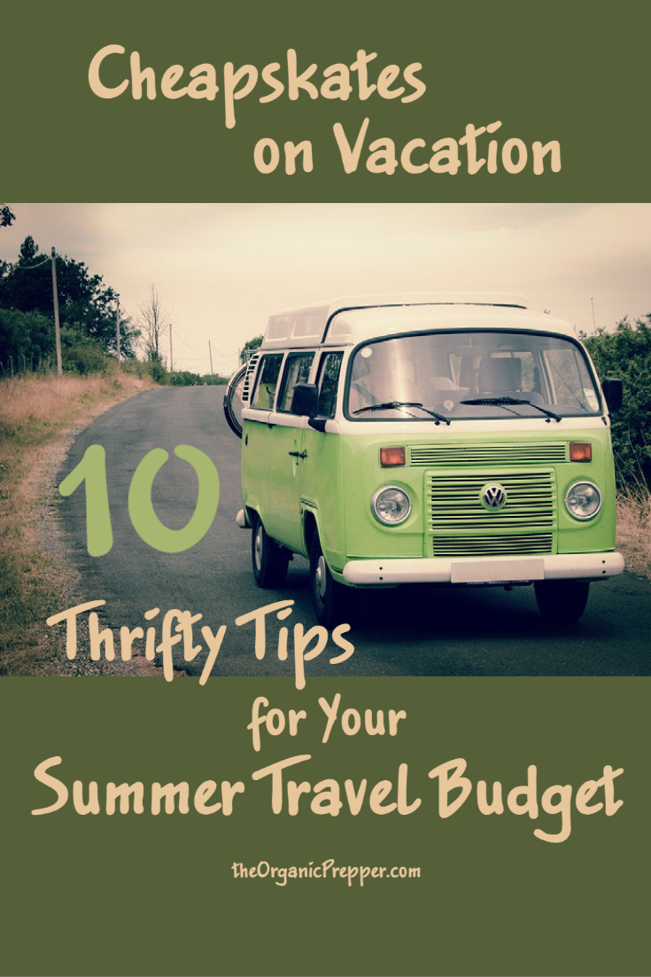 Cheapskates on Vacation: 10 Thrifty Tips for Your Summer Travel Budget