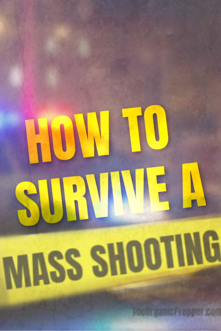 What would you do if you were in a public place and suddenly heard gunshots? Would you freeze or take action? Here\'s how to survive a mass shooting.| The Organic Prepper