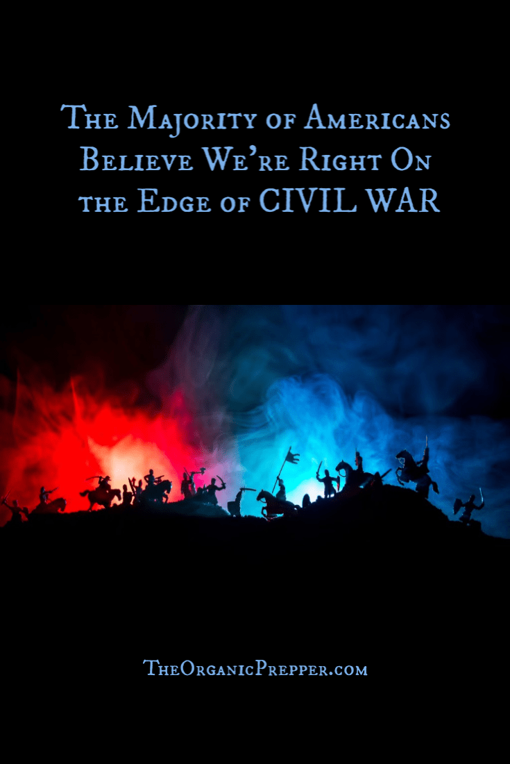 A new poll confirms what many of us have known for quite some time: tension in the US is increasing, and the likely outcome is civil war.