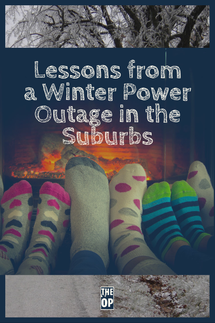Lessons from a Winter Power Outage in the Suburbs