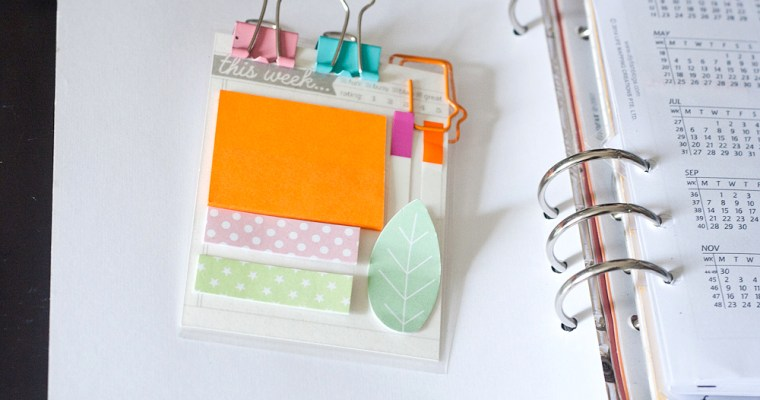 22 Ways to Use Project Life Cards in Your Planner & Paper Crafts