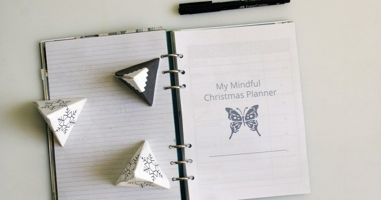 A Walk Through My Mindful Christmas Planner