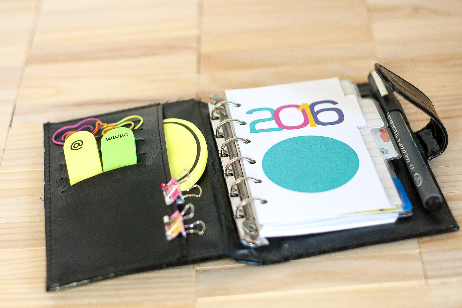 Quick Craft   Make Easy Dividers for Your Planner