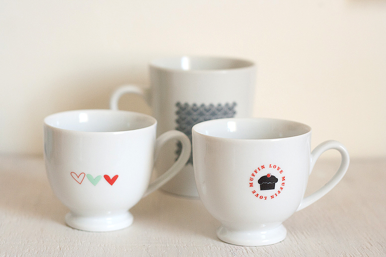 Easy Customised Mugs for Valentine's Day | Real Life Crafting