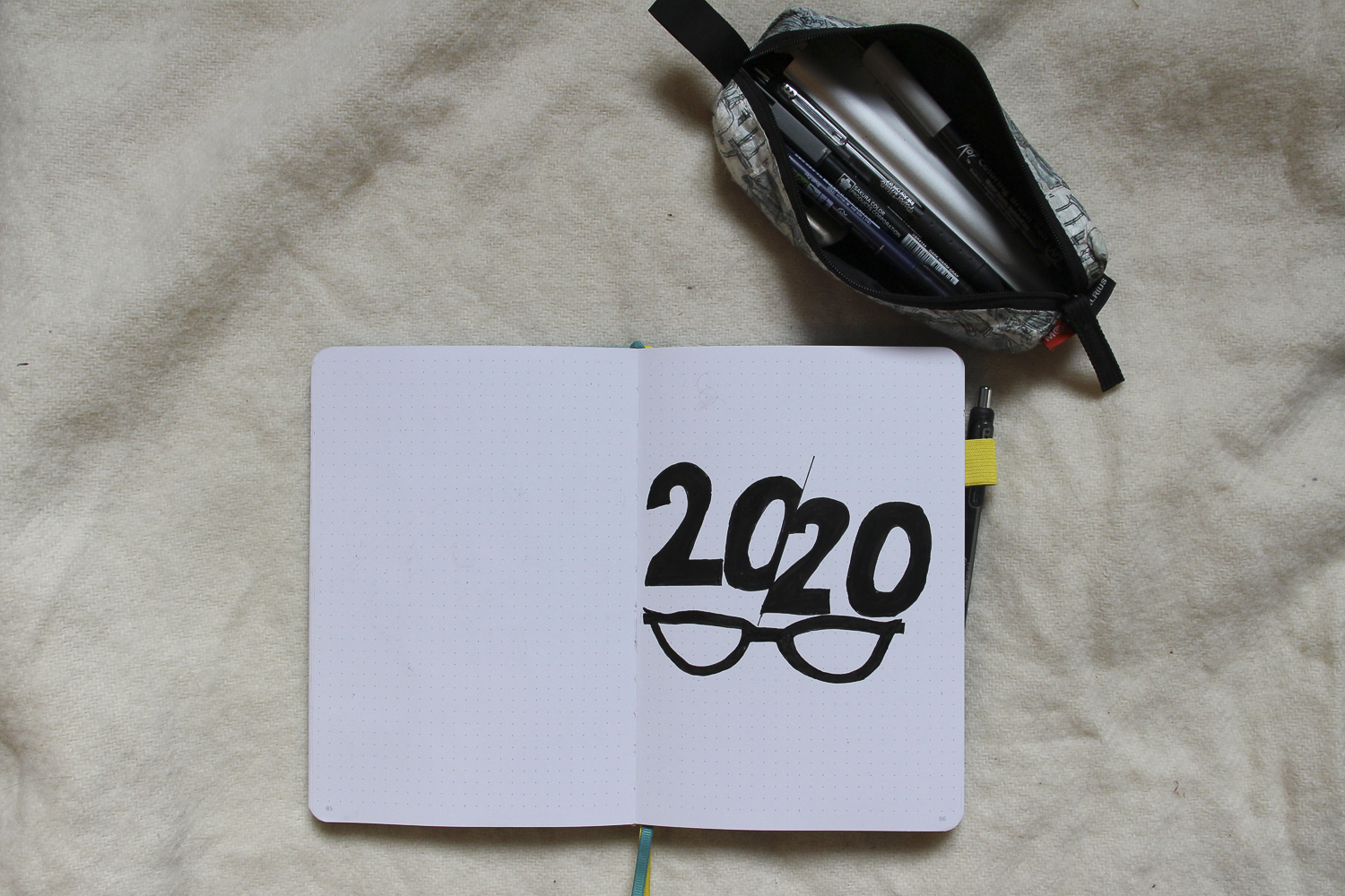 A Quick Look at my 2020 Bullet Journal Set-Up