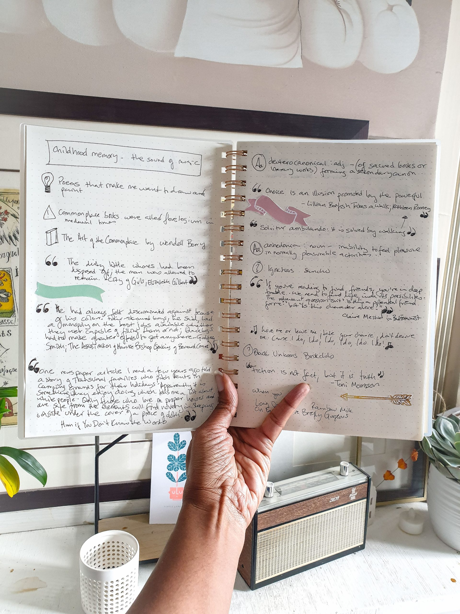 Tuesday Tip | Start a Commonplace Book