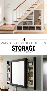 8 Ways to Bring Built in Storage to Your Home - Page 7 of 9