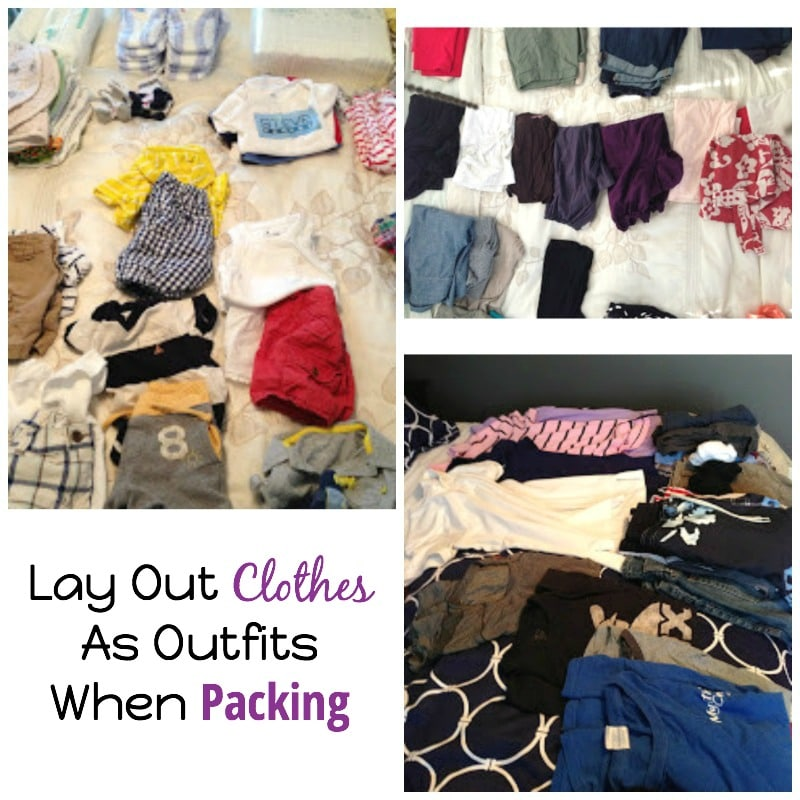 Lay Out Clothes