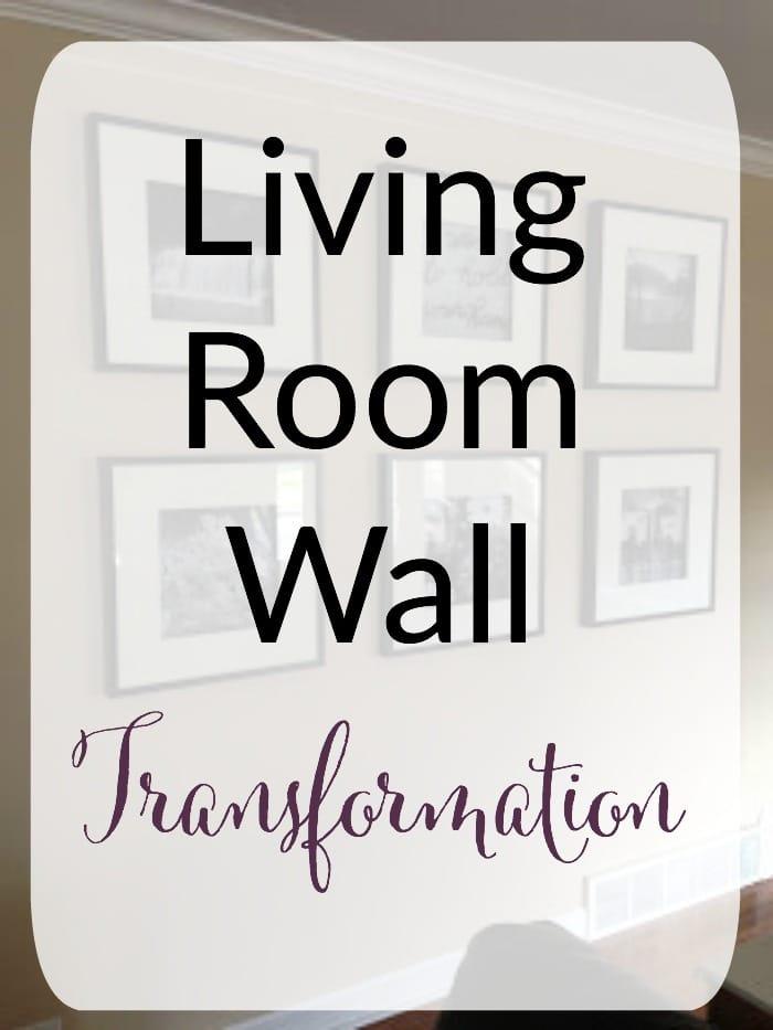 Living Room Wall Transformation